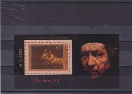 URSS 1976 PEINTURE DE REMBRANDT Yvert BF 115 NEUF** MNH - Rembrandt