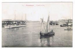 DUNKERQUE  L ENTREE DU PORT - Dunkerque
