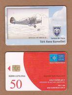 AC - TURK TELECOM PHONECARDS - GOTHA G. O. -145 1936 - 44 40 CREDITS: 50 DATE: 2006 - Aviones