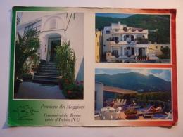 """Cartolina """"Pensione DEL MAGGIORE Casamicciola Term, Isola D' Ischia"""" - Hotels & Restaurants"""