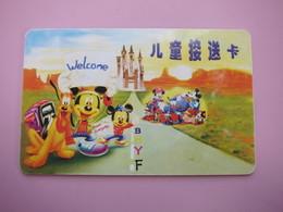 Children Garden Card, Disney - Phonecards