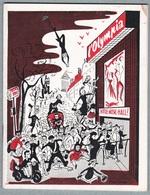 L'OLYMPIA - Programme 27 Janvier Au 15 Février 1961 EDITH PIAF,Les Craddocks,Poiret Et Serrault,Claire Feldern... - Programmes