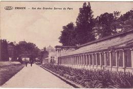 ENGHIEN VUE DES GRANDES SERRES 1911 - Enghien - Edingen