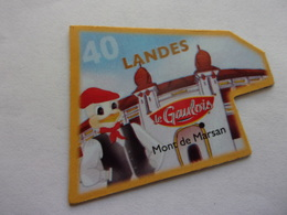 Magnet Le Gaulois 40 Landes Mont De Marsan - Tourisme