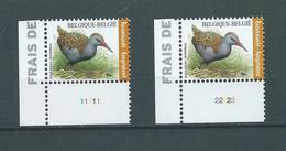 4671 Buzin Recommandé MNH** Planche 1 Et 2 - Belgique