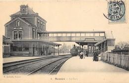46 CP(SNCF Sceaux+Hardricourt+Laroche+Achères+Verrey+Photo Cheminots)+ Aviation Paris-Madrid+Milit+Frontière+....N°95 - Cartes Postales