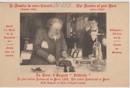 Paris Tour D'Argent ''Frédéric'' - Pubs, Hotels, Restaurants