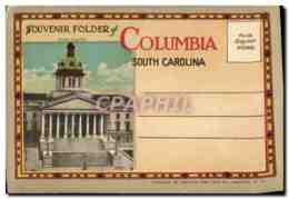 CPA Livret Pour CPA Souvenir Folder Of State Capital Columbia South Carolina - Columbia