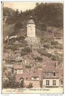 23  AUBUSSON  -    L,Horloge Et Les Granges ( Pli Coin Droit ) - Aubusson