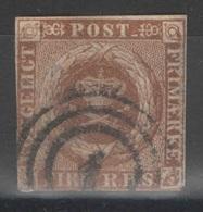 Danemark - YT 8 Oblitéré 1 - 1851-63 (Frederik VII)