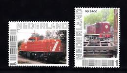 Trein, Train, Locomotive, Railway: Persoonlijke Zegel: NS Cargo 6511 + NS 2400 - Treinen
