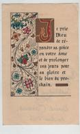 Image Religieuse Je Prie Dieu  Communion Solennelle Institution Lamartine Belley Camus 1956 - Andachtsbilder