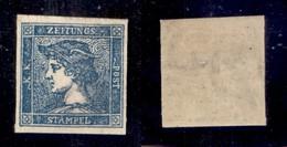ANTICHI STATI - LOMBARDO VENETO - 1855 - Per Giornali - 3 Cent (3) - Gomma Originale Con Lieve Traccia Di Linguella - Ce - Non Classificati