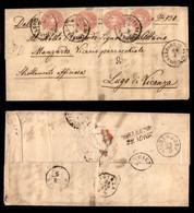 ANTICHI STATI - AUSTRIA TERRITORI ITALIANI - Pieve Di Livinallongo (P.ti 6) Su Quattro 5 Kreuzer (32) Lettera Per Lugo D - Non Classificati