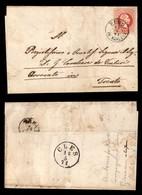 ANTICHI STATI - AUSTRIA TERRITORI ITALIANI - Rumo In Marcena (P.ti 6) Su 5 Kreuzer (37) - Lettera Per Trento Del 15.5.71 - Francobolli