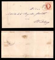 ANTICHI STATI - AUSTRIA TERRITORI ITALIANI - Toblach (P.ti 6) Su 5 Kreuzer (37) - Lettera Per Welsberg Del 18.2.80 - Francobolli