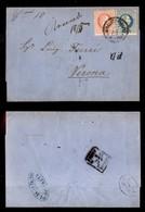ANTICHI STATI - AUSTRIA TERRITORI ITALIANI - Roveredo 18/5 (manoscritto) + C.mi 10 (manoscritto) + Kufstein Ala Fahrend  - Francobolli