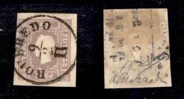 ANTICHI STATI - AUSTRIA TERRITORI ITALIANI - 1858 - Per Giornali - 1,05 Kreuzer (17) Usato A Roveredo - Molto Bello - So - Non Classificati