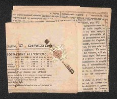 ANTICHI STATI - AUSTRIA TERRITORI ITALIANI - Cormons Trieste N.39 (P.ti 8) Su 2 Kreuzer (3-Segnatasse Giornali) Corto A  - Francobolli