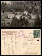 ANTICHI STATI - AUSTRIA TERRITORI ITALIANI - Bad Froy Bei Klausen - Cartolina (foto Panoramica) Per Meran - Foro Di Regi - Francobolli