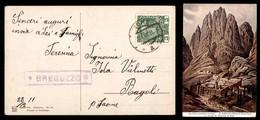 ANTICHI STATI - AUSTRIA TERRITORI ITALIANI - Breguzzo (P.ti 7) - Cartolina Per Saone Del 23.12.11 - Francobolli