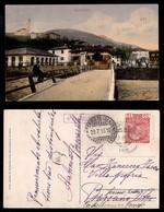 ANTICHI STATI - AUSTRIA TERRITORI ITALIANI - Calceranica (P.ti 7) - Cartolina (veduta A Colori Del Fiume) Per Bassano De - Francobolli