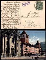 ANTICHI STATI - AUSTRIA TERRITORI ITALIANI - Jenesien (P.ti 6) - Cartolina Per Trafoi Del 30.12.15 - Francobolli