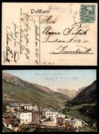ANTICHI STATI - AUSTRIA TERRITORI ITALIANI - Matsch (P.ti 6) - Cartolina Panoramica A Calori Per Innsbruck Del 22.8.08 - Francobolli