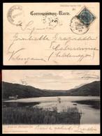 ANTICHI STATI - AUSTRIA TERRITORI ITALIANI - Montiggler See Eppan - Cartolina (veduta Del Lago) Per Calceranica Del 25.4 - Francobolli