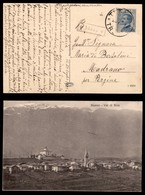 ANTICHI STATI - AUSTRIA TERRITORI ITALIANI - Nanno (P.ti 9) - Cartolina (veduta Fotografica) Per Madrano Del 23.7.21 - Francobolli
