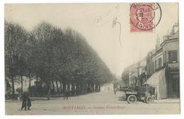 CPA Montargis Automobile Avenue Victor Hugo Tacot - Montargis