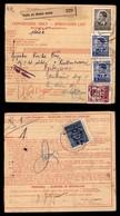 OCCUPAZIONI - LUBIANA - Bollettino Pacchi Di Iugoslavia Affrancato Per 10,25 Din (25 Para Iugoslavia + 22+24 Due) In Uso - Stamps