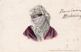 9662. CPA ILLUSTRATEUR FEMME VOILEE (PRENTL MARY MILL GRAZ-CAIRO 1910 - Egitto