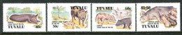 Tuvalu 1995 Chinese New Year - Year Of The Pig Set MNH (SG 724-727) - Tuvalu