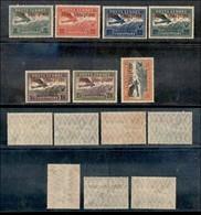 EUROPA - ALBANIA - 1929 - Posta Aerea (210/216) - Serie Completa - Gomma Originale (1.140) - Stamps