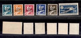 EUROPA - SVIZZERA - 1932 - Servizio - Bureau Int. Du Travail (32/37) - Serie Completa - Gomma Integra - Stamps