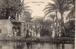 9666. CPA FONTAINE DE MOÏSE A SUEZ - Suez