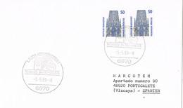 30925. Carta LAUDA KONIGSHOFEN (Alemania Federal) 1989. Vino, Wein , Wine - [7] República Federal