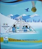 Kazakhstan  2018    The Paralympic Games. Pyeongchang  S/S  MNH - Winter 2018: Pyeongchang