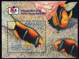 Vanuatu 1994 - Faune, Poissons Anémone - BF Neuf // Mnh - Vanuatu (1980-...)