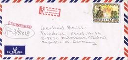 30928. Carta Aerea Certificada MONROVIA (Liberia) 1984 - Liberia