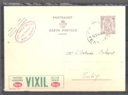 """EP Belgique Publibel 867 """" Toutes Lessives Vixil Persil """" - Petit-Enghien 1949 - Ets Vanden Abeele - Entiers Postaux"""