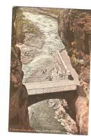 Algérie 11. Constantine Les Gorges Le Pont Du Diable Superbe Carte Postale Great Postcard Cartolina éditions LL Canyon - Constantine