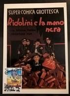 RIDOLINI  E LA MANO NERA - Cinemania