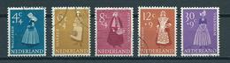 1958 Netherlands Complete Set Summer Welfare,costumes Used/gebruikt/oblitere - 1949-1980 (Juliana)