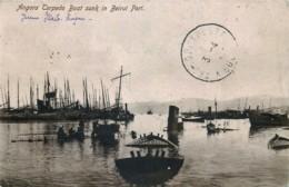 Liban - Angora Torpedo Boat.sunk In Beirut Port - Liban