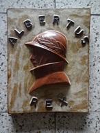 Roi Casque.Albert 1er.Gres.Dubois - Militaria