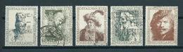 1956 Netherlands Complete Set Rembrandt Used/gebruikt/oblitere - Periode 1949-1980 (Juliana)