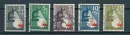 1955 Netherlands Complete Set Kankerbestrijding Used/gebruikt/oblitere - Gebruikt