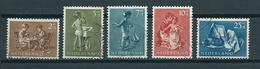 1954 Netherlands Complete Set Child Welfare Used/gebruikt/oblitere - Periode 1949-1980 (Juliana)